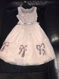 Lovely sparkly next signature party dress age 9