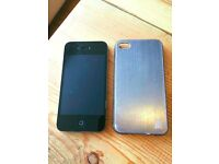 Apple Iphone 4S - 16GB with Case