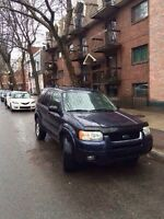Ford Escape Limited 2004 v6 3.0l 4x4 4000$ Négo