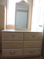 For Sale:  Dresser with mirror