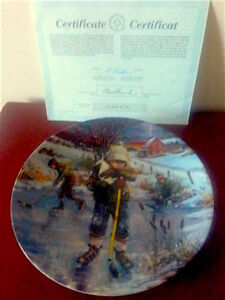 BLADES OF GLORY HOCKEY COLLECTOR PLATE