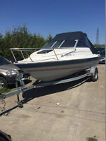 19' Bayliner Classic with Galvanized Steel Trailer