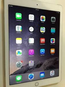 6Mth old, AS NEW  Apple iPad Air 2 64GB WIFI+4G GOLD/WHITE Victoria Park Victoria Park Area Preview