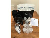 Tommee Tippee feeding set (including steriliser, bottle warmer and accessories)