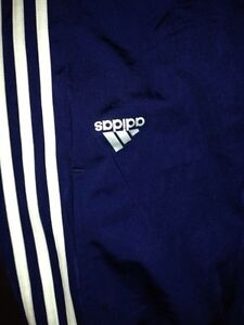 Adidas Pants Navy & Wh -Adult M-New