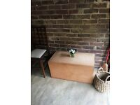 VINTAGE WOODEN TRUNK CHEST FREE DELIVERY COFFEE TABLE