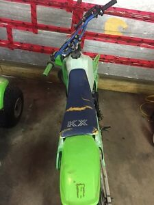 Kawasaki kx 80 $1000 or trade for a smaller bike of same value Kingston Kingston Area image 6