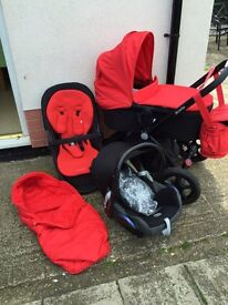 Mothercare movix travel system with car seat