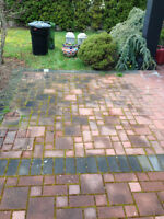 Pressure washing / All areas serviced / Worksafe + insured