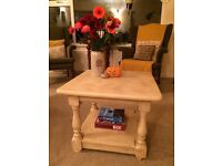 Upcycled Pine Coffee Table