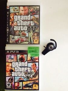GTA 4&5 with headset