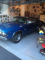 1969 SS CHEVELLE FOR SALE