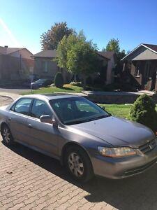 Honda Accord Sedan EX 2001 - 242,000 KM