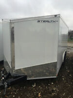 New 2016 Stealth 8.5x20 Enclosed Trailer V Nose 3 Year Warranty