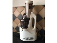 Retro, Cold Press Jason Vale Juicer. Used once. Excellent condition