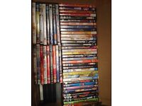 190 various DVDs