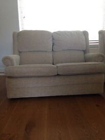 2 seater as new sofa