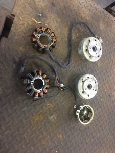 F7 stator and flywheel