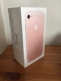 iPhone 7 32GB Brand New, Sealed, Rose Gold