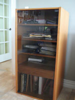 Book/stereo stand