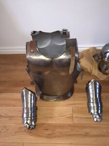 Suit of armour- full metal - reenactment quality West Island Greater Montréal image 2