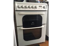Hotpoint Electric Cooker with Electric Grill and Ceramic Hob