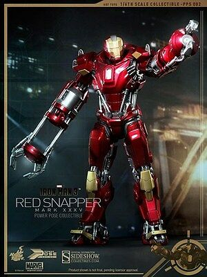 Hot Toys 1 6 Ironman 3 Tony Stark Mark 35 Xxxv Red Snapper New In Stock Pps002