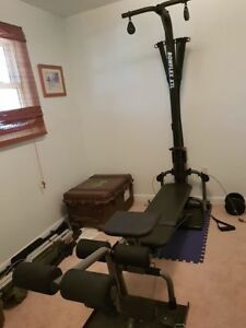 Bowflex home gym 310lbs resistance