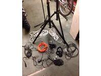 Music gigging gear.