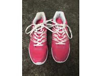 Ladies Size 8 - USA Pro Trainers (Pink)