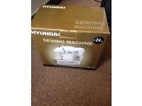 Hyundai mini sewing machine brand new in box unopened £20