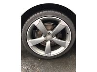 """Audi A4,S4 19"""" alloy with tyre"""