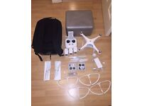 DJI Phantom 4 Quadcopter drone with lots of extras