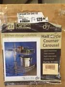 corner carousel kitchen storage unit - half circle crome brand ne Salisbury Plain Salisbury Area Preview