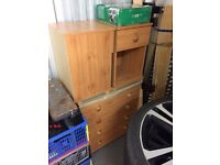 4 Draw Chest and 2 x Bedside Cabinets