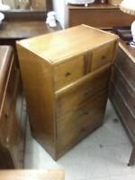 Double waterfall front 4 Drawer Men's Dresser P517,18