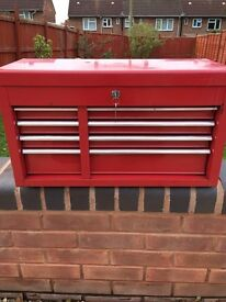 Halfords top chest 4 drawer tool box