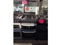 CANNON 50CM ALL GAS COOKER IN SILIVER WITH LID