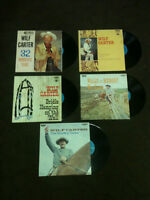 Wilf Carter 33rpm - set of 5 records
