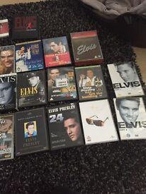 Elvis Presley 19 DVDs mint
