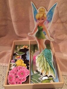 Tink wooden/ magnetic dress up