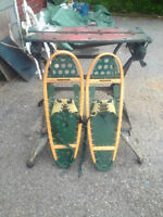 """FABER HYBRID WOOD AND POLYMER SNOWSHOES    31 1/2""""L"""