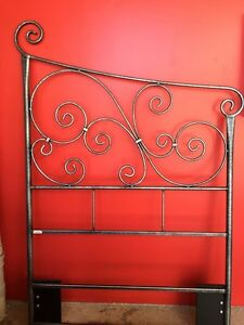 King Single Metal Headboard Woody Point Redcliffe Area Preview