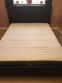 King Size Bed Frame with Pocket Sprung Mattress - Offers