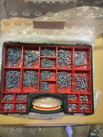 Screw sets in carry case. Discounts available