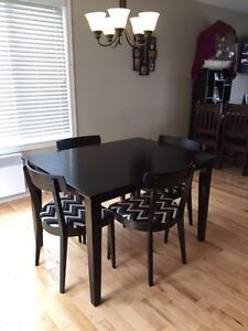 Gorgeous refurbished table and chairs!