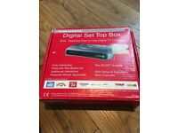 Digital free view TV Channel set up / receiving box
