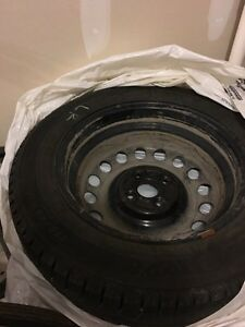 Winter tires with rims Michelin Ice-X