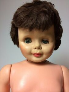 "Vintage 1960's doll Halloween creepy prop 34"" ugly scary London Ontario image 2"