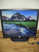 19 inch Dell lcd monitor for sale